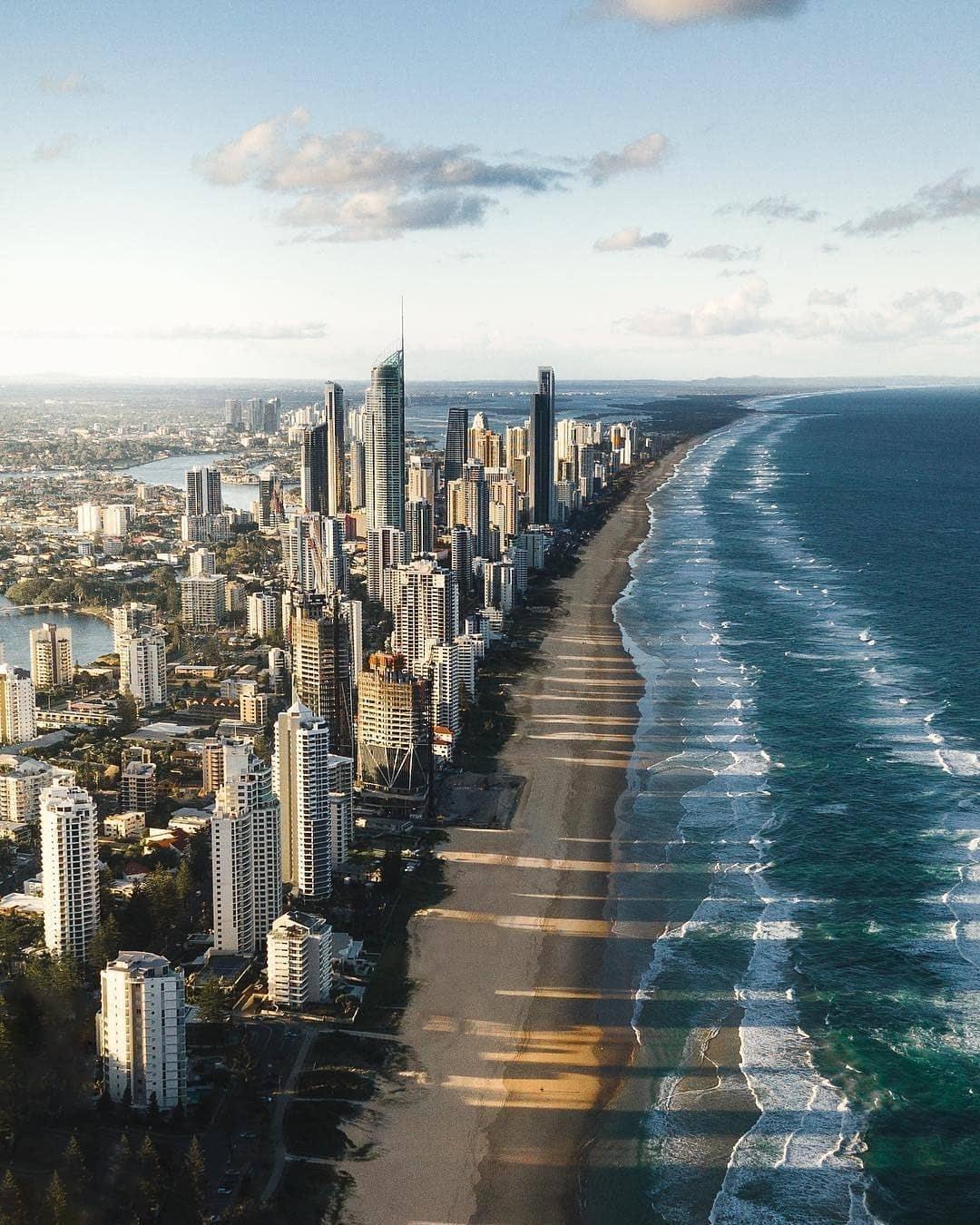 Bờ biển Vàng, Úc