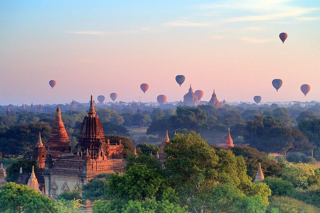 1. Bagan, Myanmar
