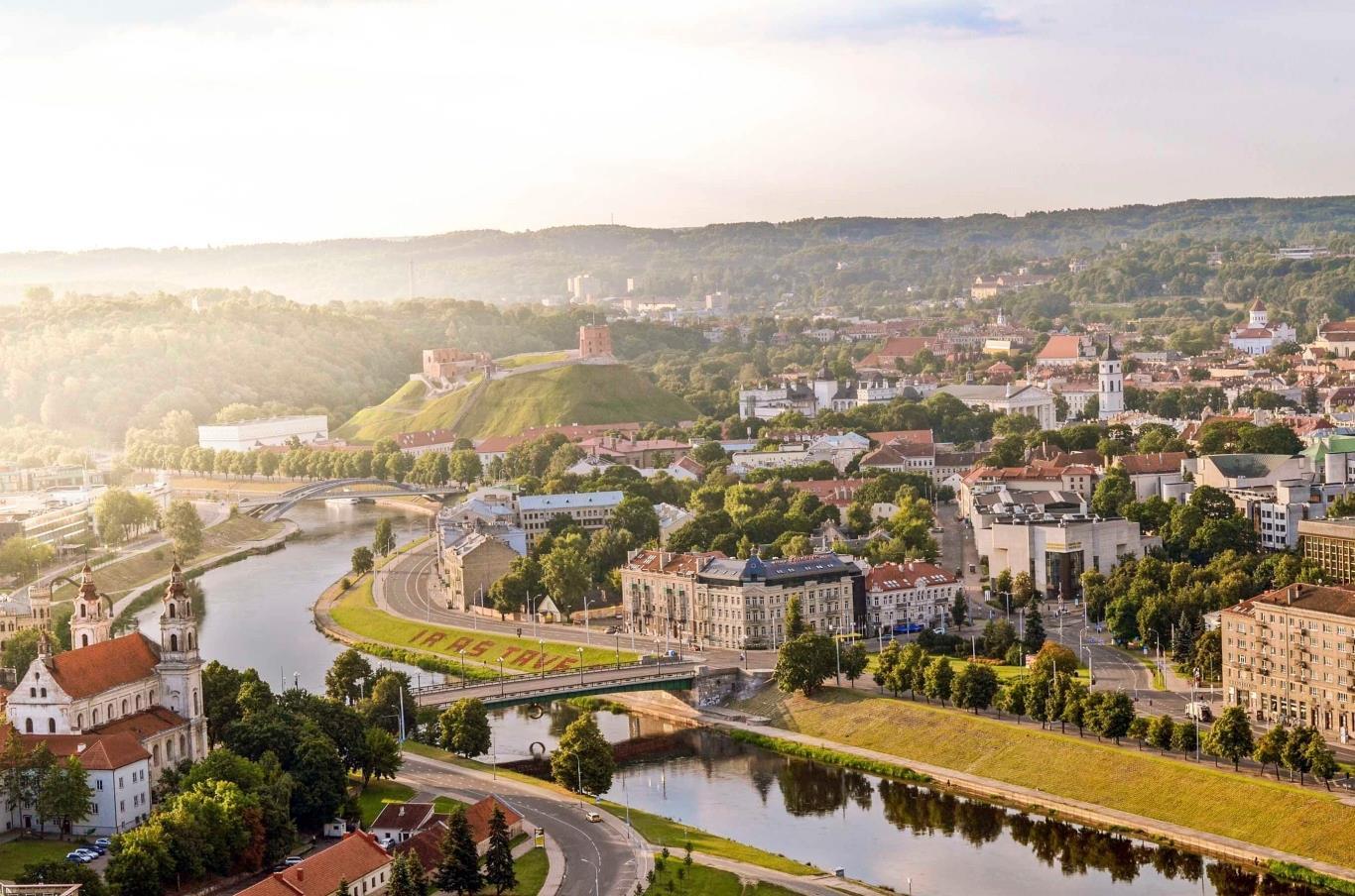 Vilnius – Thành phố nhỏ xinh