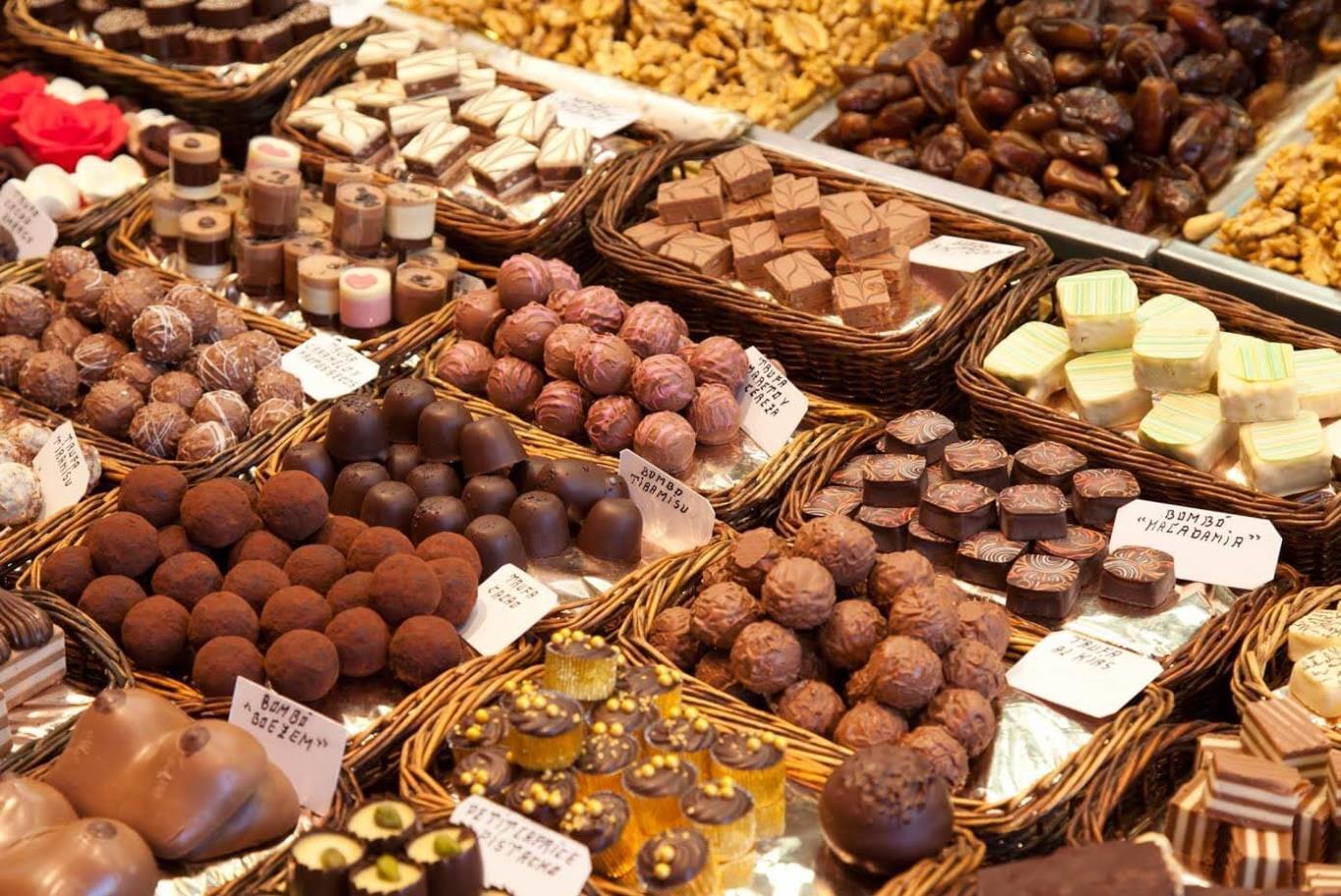 Các cửa hàng chocolate