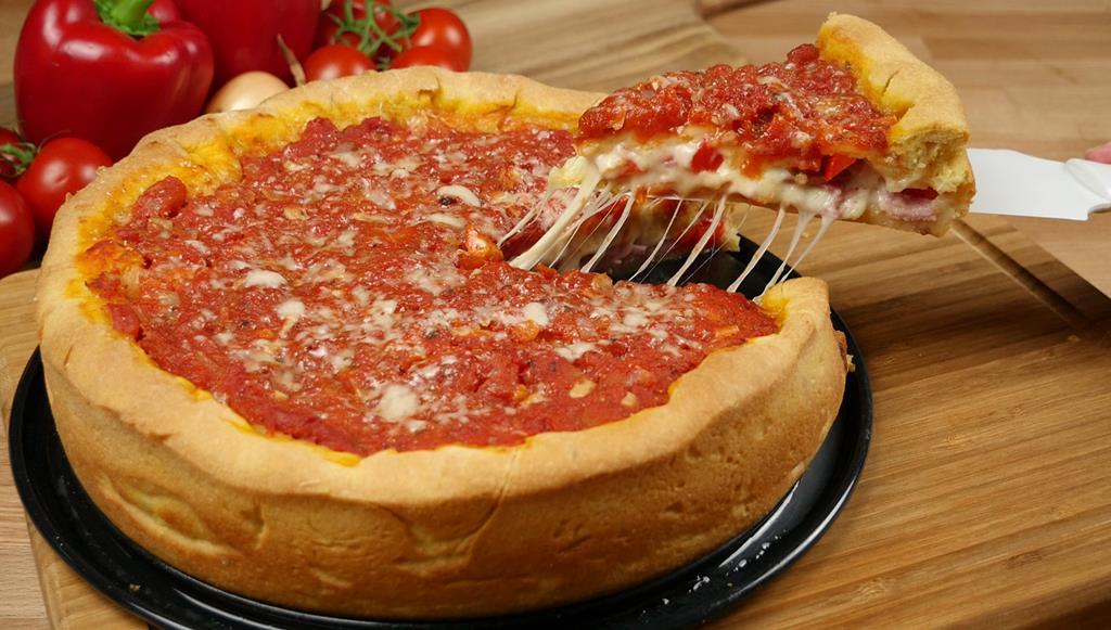 Pizza đế dày