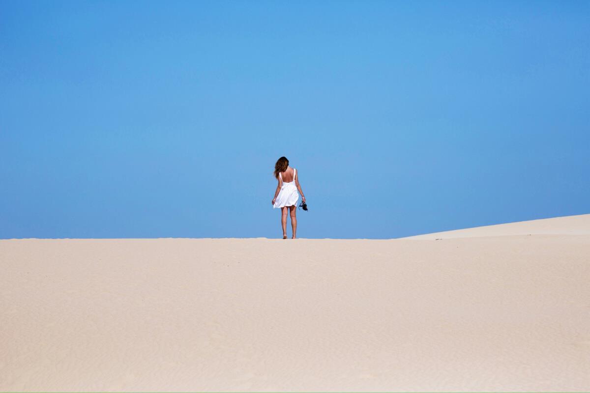 Vẻ đẹp của cát Mũi Né