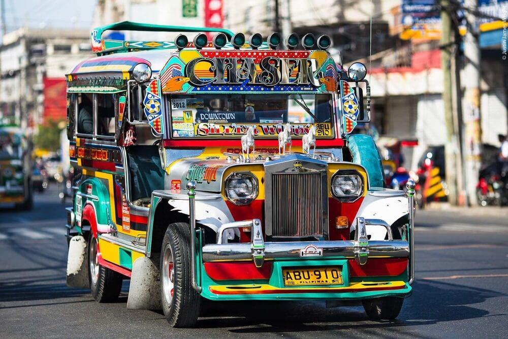 Xe jeep – Hình ảnh đặc trưng của Philippines