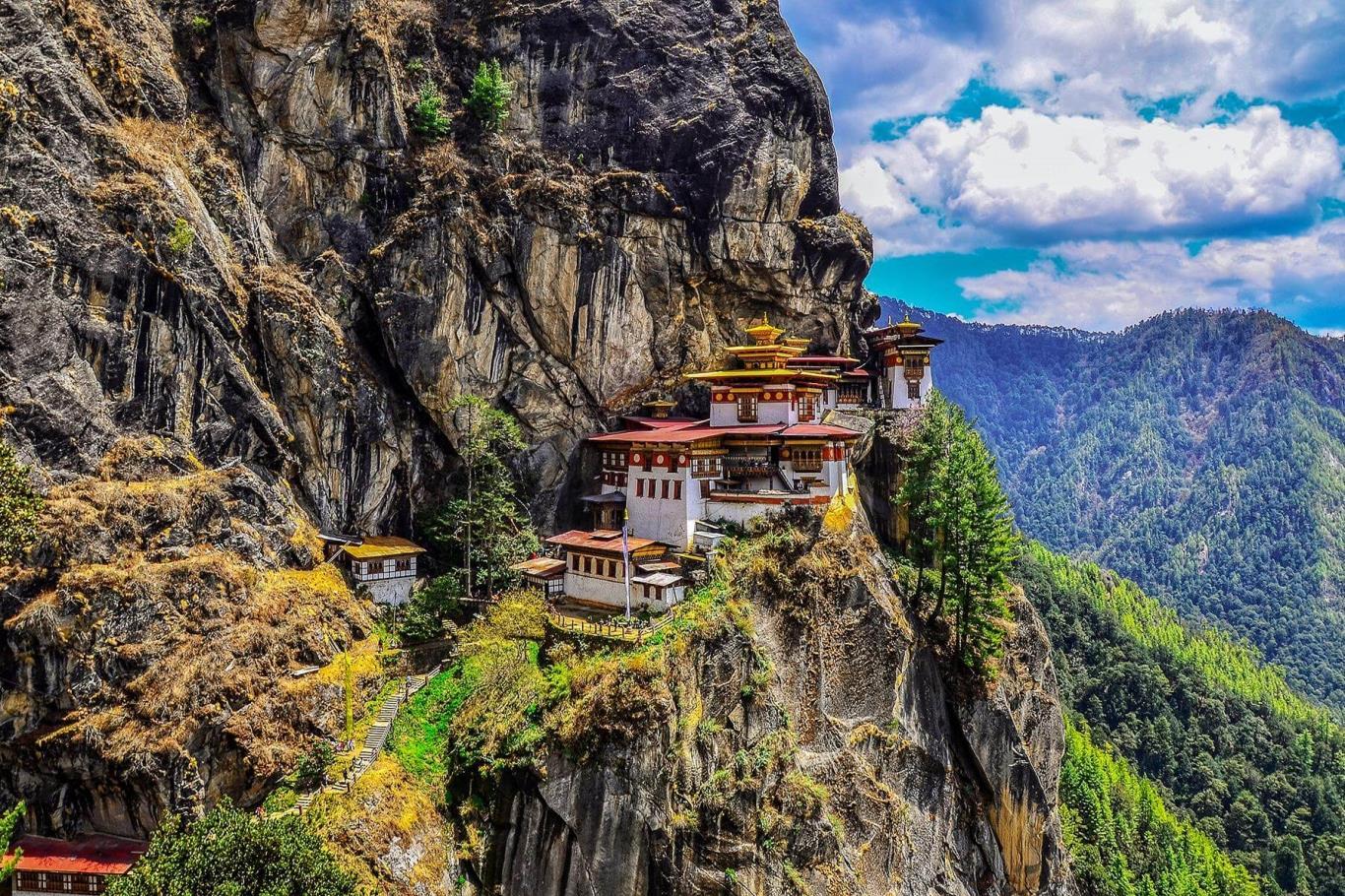 Đền Tiger's Nest, Bhutan