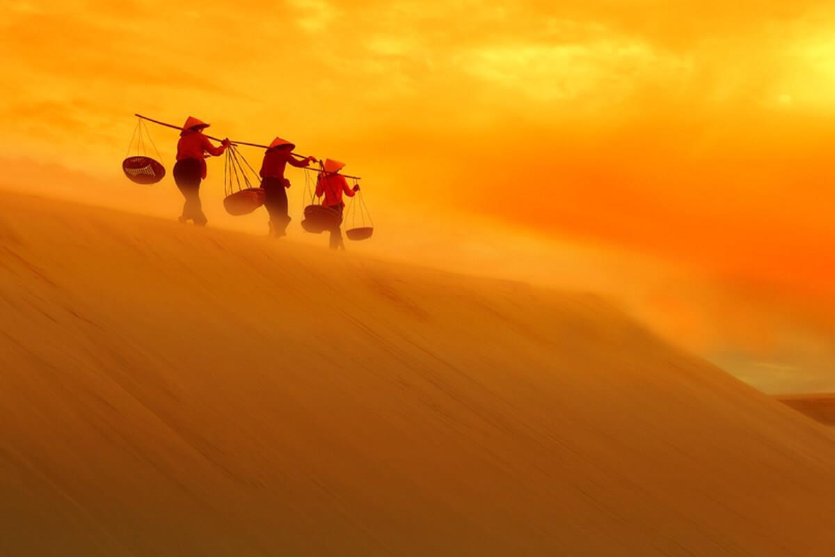 """""""Vũ điệu"""" từ miền biển cát"""