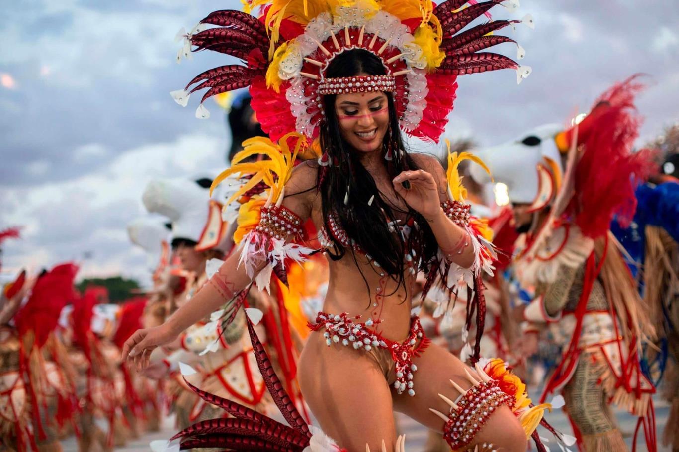 Sôi động vũ điệu Rio Carnival, Brazil