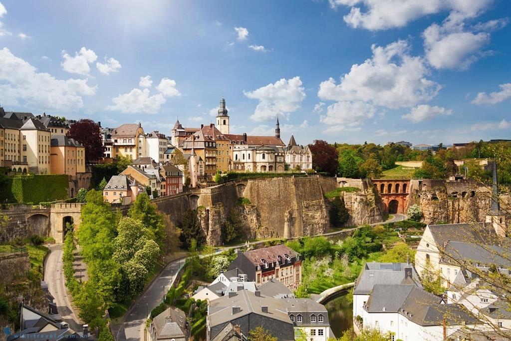 Luxembourg, thành phố xinh đẹp bị lãng quên